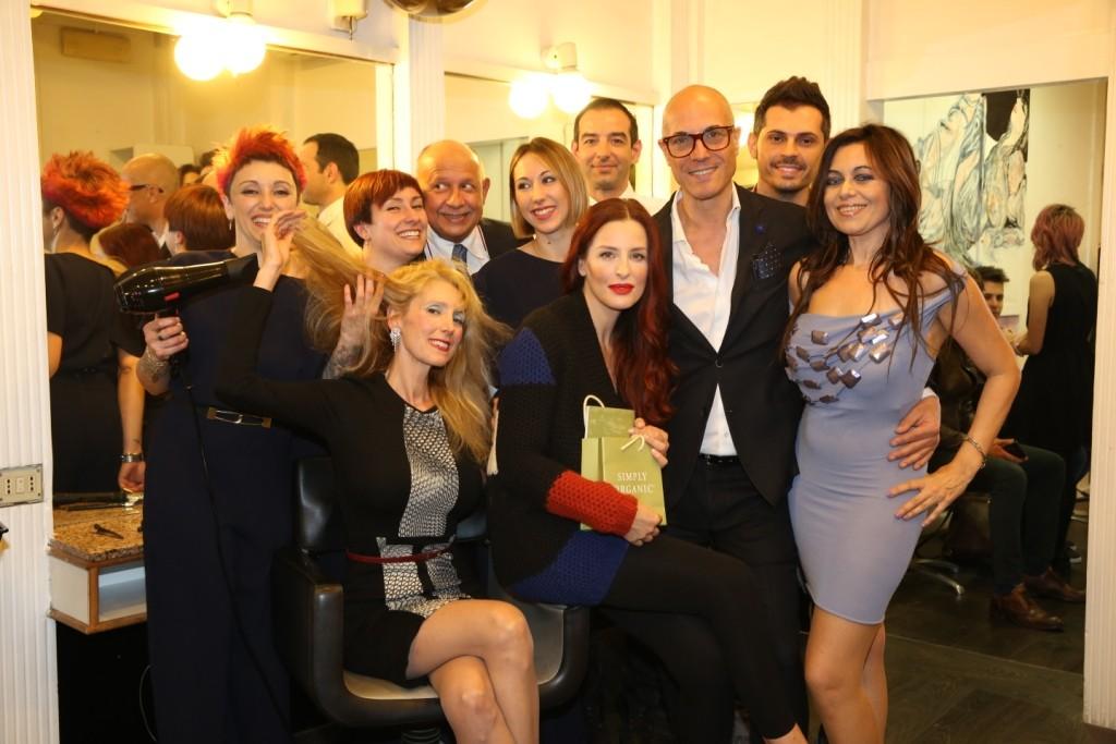 Rita Carlini, Salvatore Cialone, Simona Borioni, Deborah Bettega e lo staff di Suite 37