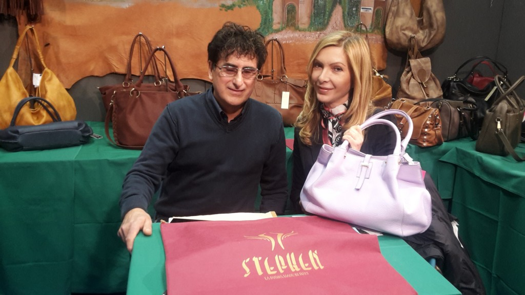 Stefano Affede e la giornalista Antonietta Di Vizia