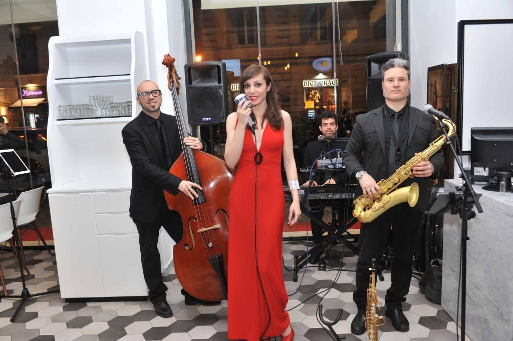 Trio Live, con Claudia D'Ottavi