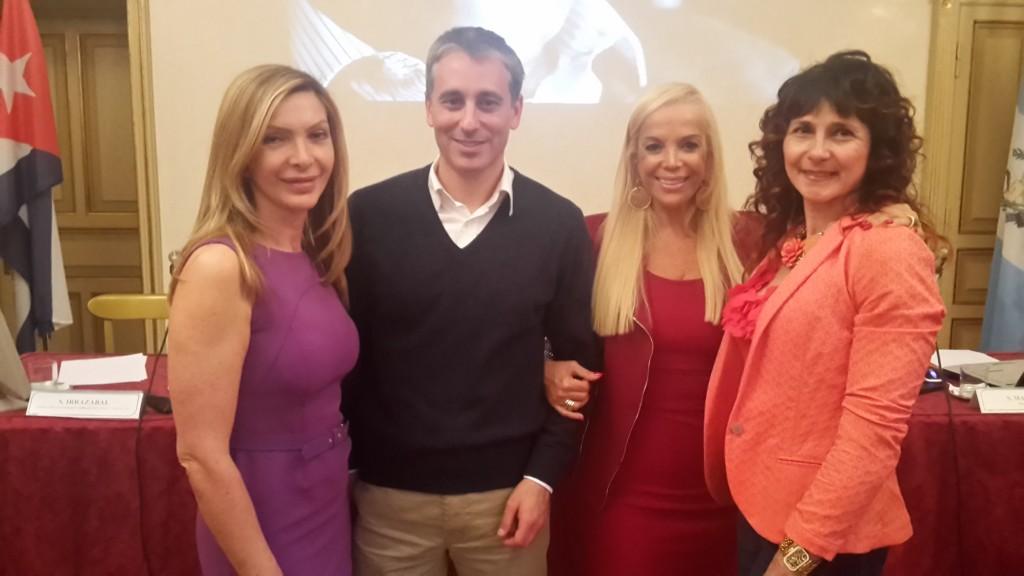 da destra Francesca Munzi, Sylvia Irrazàbal, Antonietta Di Vizia