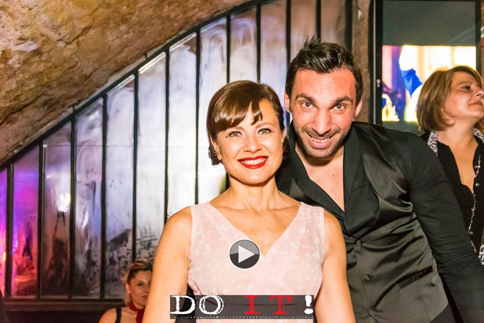 Mario Orfei ed Antonella Elia