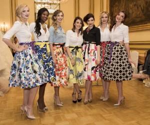 Skirtcollection al centro Giada Curti