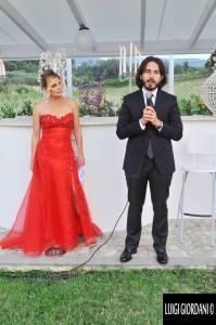 Il medico palliativista dell'ANT Italia Onlus, dottor Marco Marinaccio e la conduttrice Patrizia Pellegrino