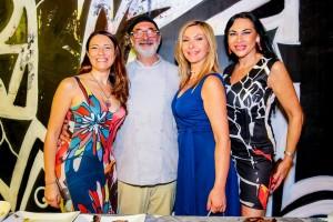 Elenia Scarsella, Andy Luotto, Antonietta Di Vizia e Elisabetta Viaggi
