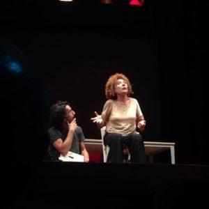 Cinzia Leone al teatro Boni