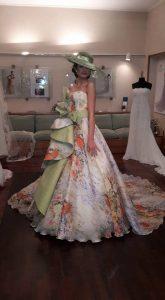 Abito Monet, indossato da Giulia Zerbadian