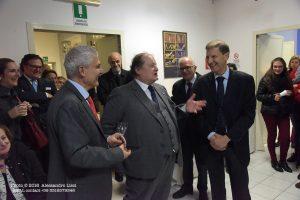 Fabio Trebbi, Massimo Barra e l'ambasciatore Svizzero Giancarlo Kessler Circolo Svizzero Villa Maraini. Foto di Massimo Lisci