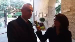 L'Ambasciatore presso Santa Sede Daniele Mancini e Federica Pansadoro