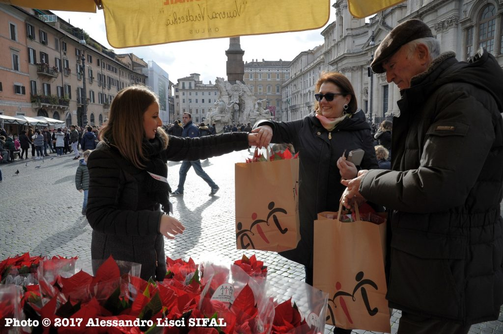 Prezzo Stella Di Natale Ail.Le Stelle Di Natale Ail Nelle Piazze Grazie Ai Volontari Di Romail
