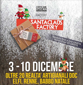 Alt text Santa Claus Factory