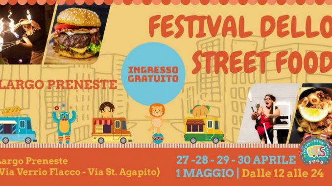 Alt text Largo Preneste Festival dello Street Food