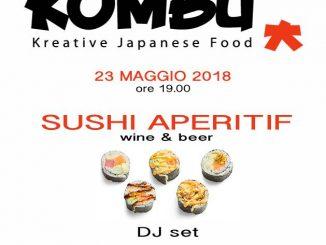 Alt text Aperitivo Sushi