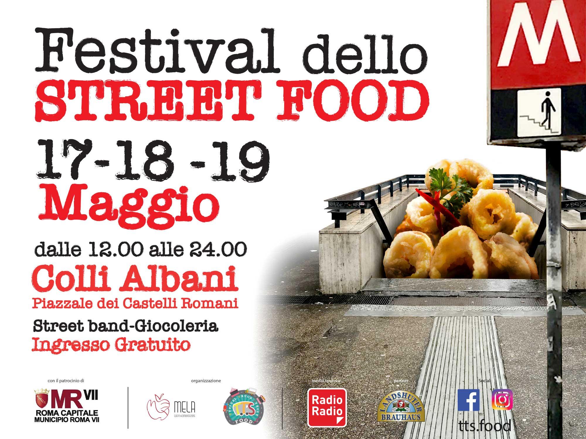 Festival dello Street Food a Colli Albani
