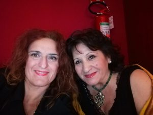 Sara Lauricella con Giovanna Lauretta